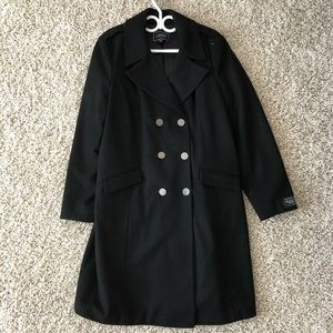 💚NWOT - Le Chateau Wool Trench Coat